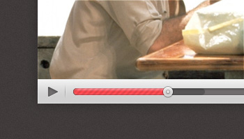 Free Video Player Interface (PSD)