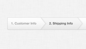 Checkout Process Navigation (PSD)