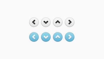 Simple Little Arrows (PSD)