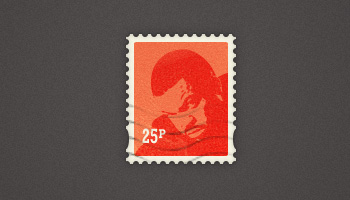 Pretty Little Postage Stamp (PSD)