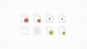 File Icon Set (PSD)