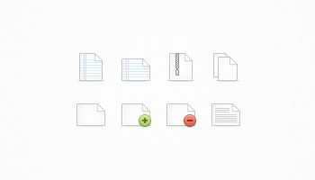 File Icon Set Continued... (PSD)
