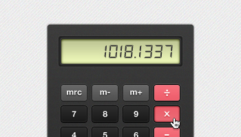 Chunky Calculator (PSD)