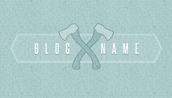 Woodsman Blog Layout (PSD)