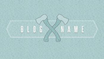 Woodsman Blog Layout (PSD)
